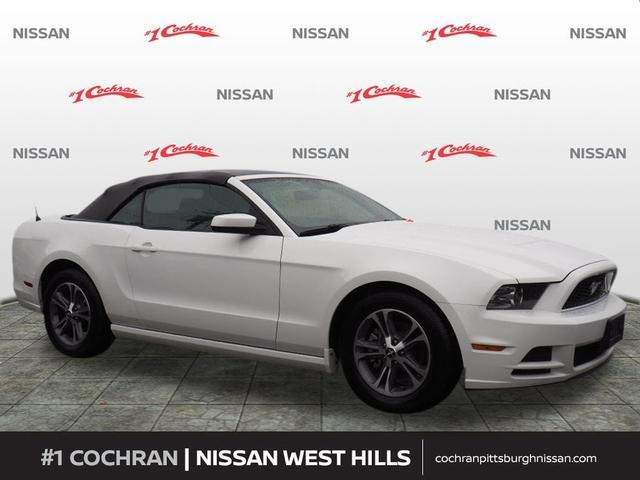 Pre Owned 2014 Ford Mustang V6 2d Convertible In Coraopolis 5500328