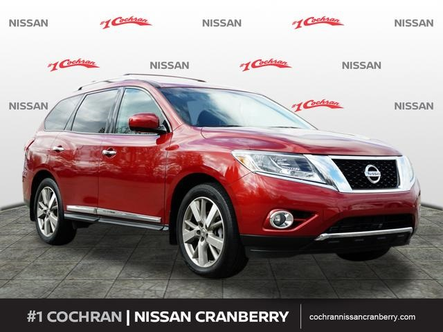 Certified Pre-Owned 2016 Nissan Pathfinder Platinum
